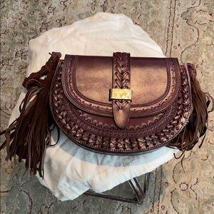 "Ulla Johnson leather ""Rhita"" bag."